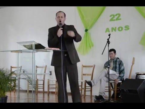 Ev Cleber Eduardo Rossetto Pregando na IBC de Palmeira das  Missões