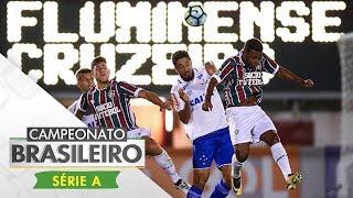 Em jogo movimentado, Fluminense e Cruzeiro ficaram no 1 a 1 em Edson Passos. Os mineiros abriram o placar com Sassá, que marcou pelo segundo jogo consecutivo. Os tricolores pressionaram e chegaram ao empate com Richarlison, cobrando pênalti.Esporte Interativo nas Redes Sociais:Portal: http://esporteinterativo.com.br/Facebook: https://www.facebook.com/esporteinterativoTwitter: https://twitter.com/Esp_InterativoInstagram: https://www.instagram.com/esporteinterativo