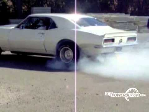 myPowerBlock video: Chevy Camaro burnout