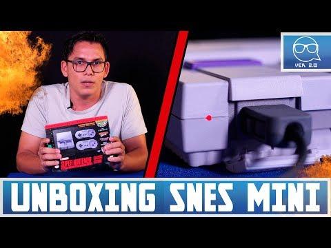UNBOXING Y PREVIEW SUPER NES MINI - TECHIE TALK