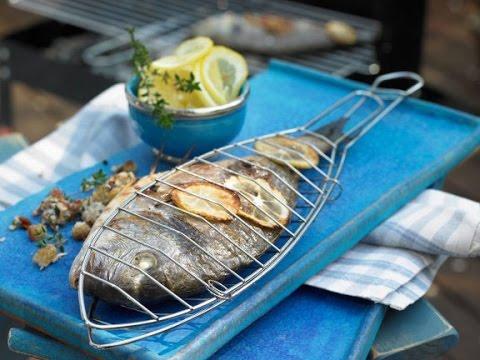 Рыба на гриле рецепт