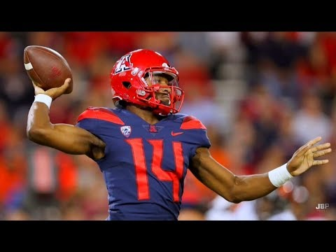 Most Exciting Player in the PAC-12 || Arizona QB Khalil Tate 2017 Midseason Highlights ᴴᴰ (видео)