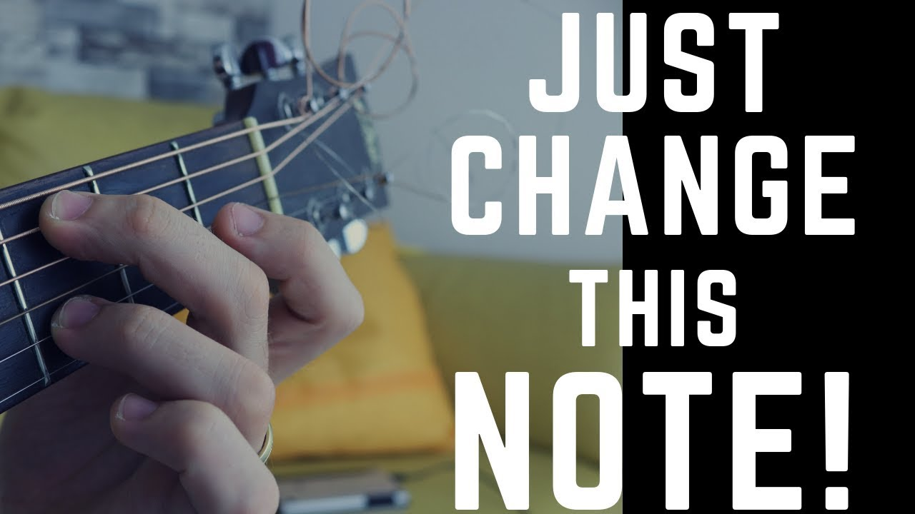Simple Step to CREATE BEAUTIFUL BASIC CHORDS on Acoustic Guitar