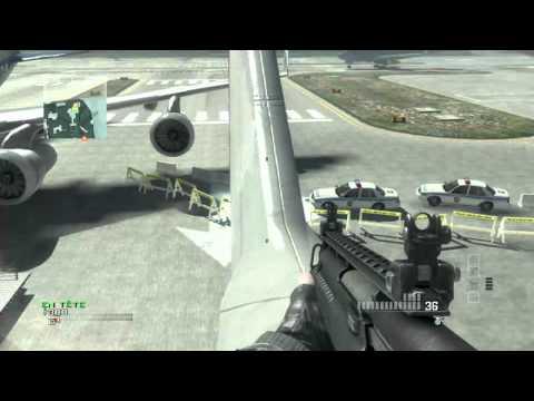 comment monter sur l'avion dans terminal mw3 xbox