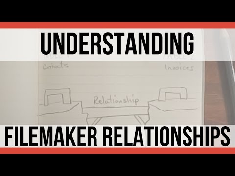 Understanding FileMaker Relationships | FileMaker Pro Videos | FileMaker Training