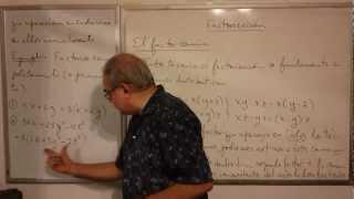 Algebra Intermedia - Lección 10 - A (el Factor Común)