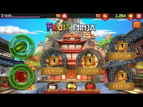 JXG VID: Fruit Ninja