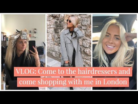 VLOG: COME SHOPPING AND TO THE HAIRDRESSERS WITH ME