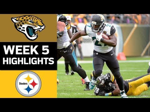 Jaguars vs. Steelers | NFL Week 5 Game Highlights - Thời lượng: 8:54.