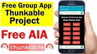 Video How To Create Simple Group Auto Impression App In Thunkable With Auto Impression Counter | Free AIA MP3, 3GP, MP4, WEBM, AVI, FLV September 2018