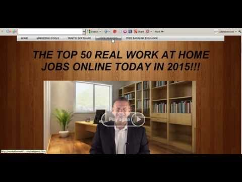Top 10 work from home jobs real work at home job 2015 Best how to make money from home free website