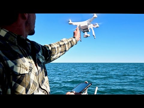 FLYING A DRONE FROM A MOVING SAILBOAT - CRASH LANDING!!_Legjobb videók: Vitorlázás