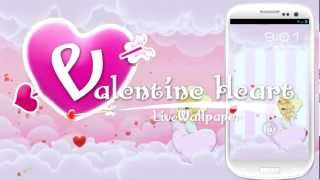 Valentine Heart Live Wallpaper YouTube video