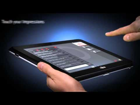 Fujitsu STYLISTIC Q550 Slate PC commercial
