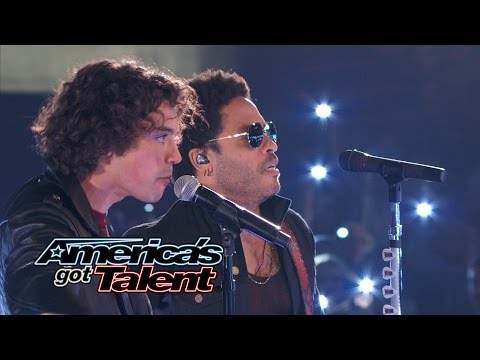 America - Miguel Dakota performs with four-time Grammy Award-winner Lenny Kravitz. See them perform