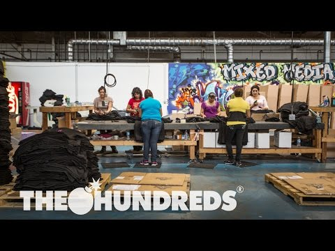Video: The Hundreds Presents Their Screen Printing Shop – Mixed Media Productions