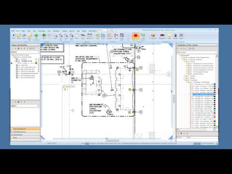 Demonstration Red Rhino Electrical Estimating Software and PlanSwift On Screen Take Off