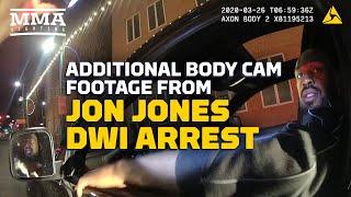 Additional Bodycam Footage from Jon Jones' DWI Arrest  - MMA Fighting by MMA Fighting
