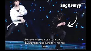 Video 【BTS】Jungkook's  accident on stage & his professional response MP3, 3GP, MP4, WEBM, AVI, FLV Februari 2019
