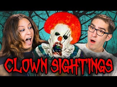 Parents React to Creepy Clown Sightings