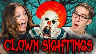 Nonton PARENTS REACT TO CREEPY CLOWN SIGHTINGS COMPILATION Film Subtitle Indonesia Streaming Movie Download