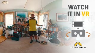 A day in the life of Anton Krupicka – Virtual Reality by La Sportiva