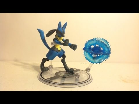 SH Figuarts Pokémon - Lucario Review