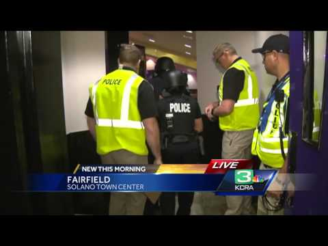 Fairfield Police conducts emergency preparedness drill