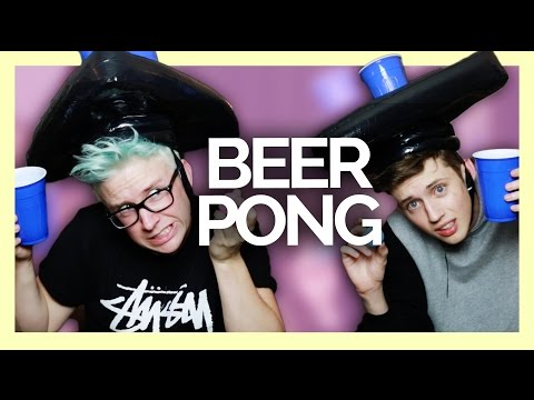 PLAYING BEER PONG WITH TYLER OAKLEY