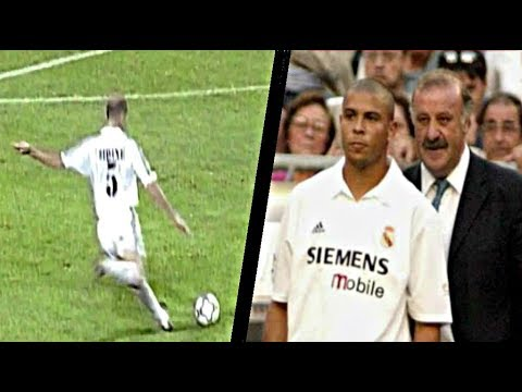Download Ronaldo And Zidane ● First Match Together ► Legendary Performances  In 2002