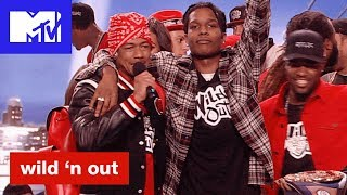 A$AP Rocky & the Mob Return and Justina Valentine Bars Out   Wild 'N Out   #Wildstyle