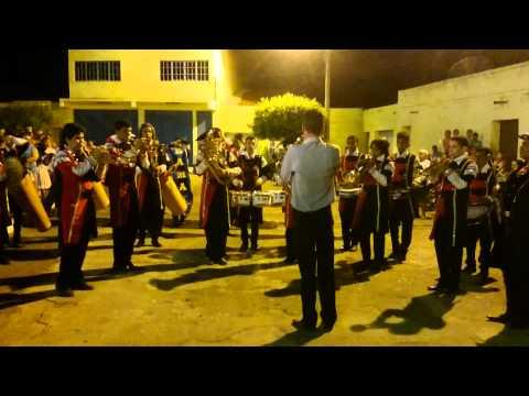 PARÓQUIA ANTONINA DO NORTE-CE - FANFARRA ENCERRAMENTO DA PROCISSÃO-13/06/2015