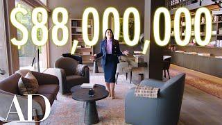Video Inside an $88M Bel Air Mansion with a Hidden Car Elevator   On the Market   Architectural Digest MP3, 3GP, MP4, WEBM, AVI, FLV Agustus 2019