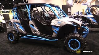 10. 2016 Can Am Maverick Max X DS 1000R Turbo Side by Side ATV - Walkaround - 2015 AIMEXPO Orlando