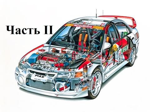 Фильм «Назад в гонки» постройка автомобиля Lancer Evolution IV часть II