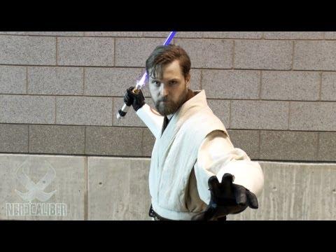 Obi-Wan Kenobi - Star Wars Clone Wars Cosplay - C2E2 2013