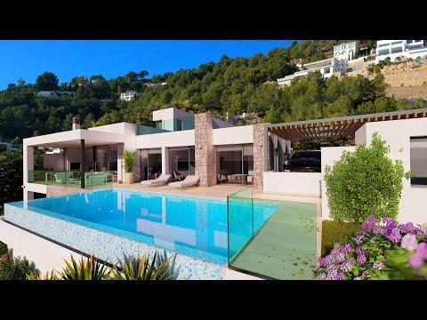 1250000€/Элитная недвижимость в Испании/Вилла в Бениссе/Красивый дом в Испании/Виллы в Коста Бланке