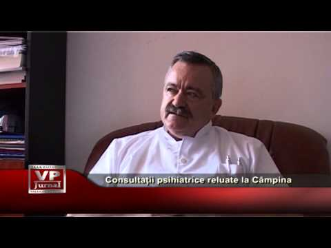 Consultații psihiatrice reluate la Câmpina
