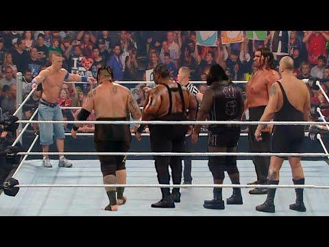 John Cena did The Impossible & defeated 5 Monsters - Big Show, Khali, Umaga, Big Daddy V Mark Henry