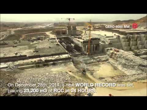 Hydro World - Grand Ethiopian Renaissance Dam on KEFET.COM