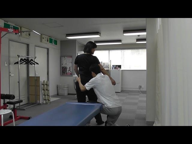 【施術動画】腰痛の施術後に「まだ、痛い」と言われた