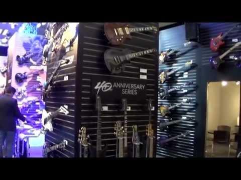 ESP Guitars NAMM 2015