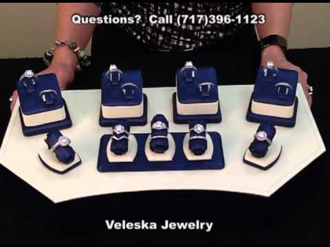 Veleska Jewelry (Lancaster PA) Diamond Engagement Rings Solitaire Halo Custom Design Jewelry