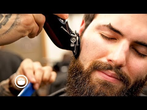 Hairdresser - How to Add Structure to Your Beard with a Trim  South Austin Barber Shop