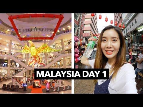 Malaysia Vlog #1 | Shopping Around Kuala Lumpur 🇲🇾