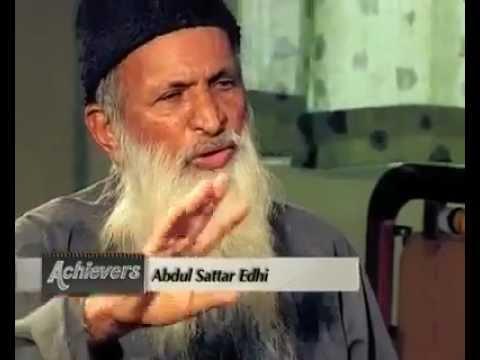 Abdul Sattar Edhi's Interview (видео)