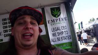 EMPIRE WELLNESS BOOTH WALKTHROUGH!!! (HIGH TIMES CUP) by Custom Grow 420