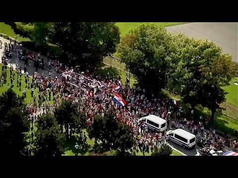 Κροατία: Υποδοχή ηρώων από 80.000 στην Εθνική Ομάδα