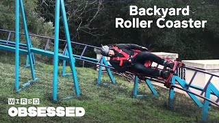 Video How This Guy Built a Roller Coaster In His Backyard | WIRED MP3, 3GP, MP4, WEBM, AVI, FLV Juli 2019