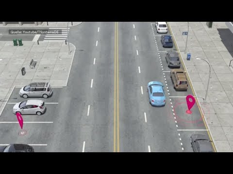Hamburg: Digitales Parkleitsystem soll Autofahrern helfen